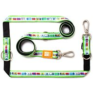 Max & Molly Multi-Function-Leash, Traffic Jam, Size XS