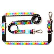 Max & Molly Multi-Function Leash, Crayons, Size XS