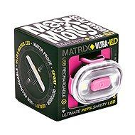 Max & Molly Matrix Ultra LED Cube, bezpečnostní světlo, růžové - Světlo na obojek