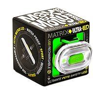 Max & Molly Matrix Ultra LED Cube, bezpečnostní světlo, zelené - Světlo na obojek