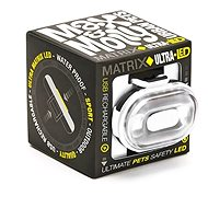 Max & Molly Matrix Ultra LED Cube, bezpečnostní světlo, bílé - Světlo na obojek