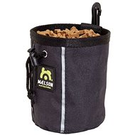 Maelson Treat Dispenser fo 350g of Treats - Anthracite - 10 × 10 × 14cm - Treat Bag