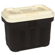 Maelson Box na granule pro 7,5 kg krmiva - černo-béžový - 41× 25× 33 cm - Barel na granule
