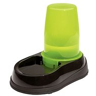 Maelson Water Bowl with 1500ml Water Reservoir - Black-green -17 × 28 × 23cm - Dog bowl