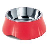 IMAC Miska pro psa nerez + plast - 400 ml - mix barev- průměr 16,2 cm - Miska pro psy