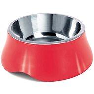 IMAC Dog Bowl Stainless Steel + Plastic - 1900ml - mixed colours - 25.6cm diameter