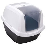 IMAC Cat Litter Tray with carbon filter and scoop - anthracite - L 62 × W 49.5 × H 47.5cm - Cat Litterbox