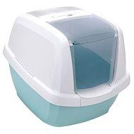 IMAC Cat Litter Tray with high edge and scoop - mint - L 62 × W 49.5 × H 47.5cm - Cat Litterbox