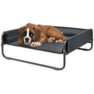 Maelson Folding Travel Bed - anthracite - 86 × 86 × 34cm