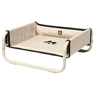 Maelson Folding Travel Bed - beige - 86 × 86 × 34cm