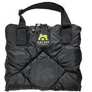 Maelson Travel Blanket - black-beige - 100×65cm