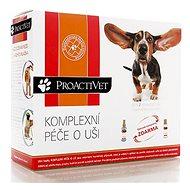 Proactivet Komplexní péče o uši 2 × 50 ml - Kapky do uší pro psy a kočky