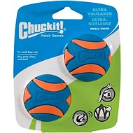 Chuckit! Ultra Squeaker Balls Small - 2 Pack - Dog Toy Ball