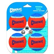 Chuckit! Tennis Balls Medium - 4 Pack - Dog Toy Ball