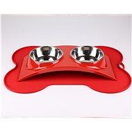 Janette Pets Exclusive set 2 × 385ml, červená - Miska pro psy