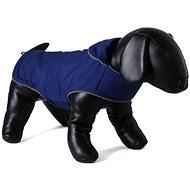 Doodlebone Tweedy Reversible Dog Jacket Blue/Turquoise S - Dog Clothes
