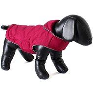 Oboustranný kabát pro psy Doodlebone Tweedie Raspberry / Navy XL