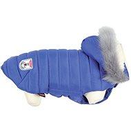 Obleček pro psy Zolux Obleček prošívaná bunda pro psy URBAN modrá 30cm  - Obleček pro psy
