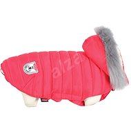 Zolux Obleček prošívaná bunda pro psy URBAN červená