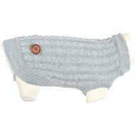 Zolux Braided Dog Sweater DANDY grey 30cm - Sweater for Dogs