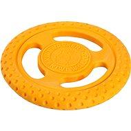Kiwi Walker Flying and Floating Frisbee made of TPR Foam, Orange, 22cm - Dog Frisbee