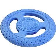 Frisbee pro psy Kiwi Walker Létací a plovací frisbee z TPR pěny, modrá, 22 cm