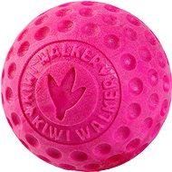 Kiwi Walker Plovací míček z TPR pěny, růžová, 9 cm - Míček pro psy