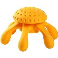 Kiwi Walker Plovací chobotnice z TPR pěny, oranžová, 20 cm - Hračka pro psy