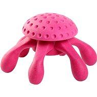 Kiwi Walker Swimming Octopus of TPR Foam, Pink, 20cm - Dog Toy