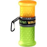 Kiwi Walker Travel Bottle 2-in-1, orange-green, 750+500ml - Travel Bottles for dogs
