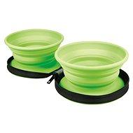 Kiwi Walker Cestovní miska, zelená, 350 ml - Cestovní miska pro psy a kočky