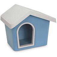 IMAC Bouda pro psa plastová - modrá - D 53 46×V 47,6 cm -  Bouda pro psa
