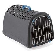 IMAC Přepravka pro psa a kočku z recyklovaného plastu -  antracitová - D 50 x Š 32 x V 34,5 cm