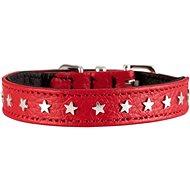Hunter obojek Capri Mini Star, červený 20 - 24 cm - Obojek pro psy