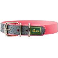 Hunter obojek Convenience, růžový 33 - 41 cm - Obojek pro psy
