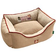 Hunter University Dog Bed, Beige - Dog Bed