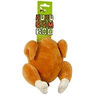Huhubamboo plyšové kuře 13 cm - Hračka pro psy