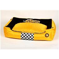 Kiwi Walker Racing Cigar pelech z ortopedické pěny, velikost L, žlutý