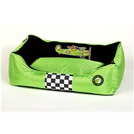 Pelíšek Kiwi Walker Racing Aero pelech z ortopedické pěny, velikost XL, zelený