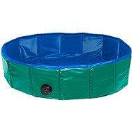 Karlie Folding Pool for Dogs Green/Blue 120 × 30cm - Dog Pool