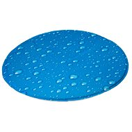 Karlie Cooling Pad, Drop Pattern, Diameter of 60cm - Cooling Mat for Dogs
