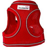 Doodlebone Airmesh Snappy Red XS - Postroj pro psa