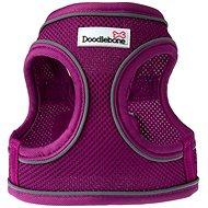 Doodlebone Airmesh Snappy Purple XS - Postroj pro psa