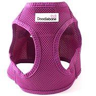 Doodlebone Airmesh Snappy Purple S - Postroj pro psa
