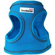 Doodlebone Airmesh Snappy Neon Blue S - Postroj pro psa