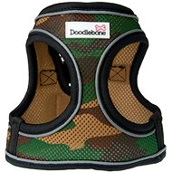 Doodlebone Airmesh Snappy Army S Harness - Dog Harness