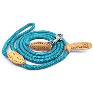 Vodítko pro psa Lanové vodítko Doodlebone Neon Blue - Vodítko pro psa