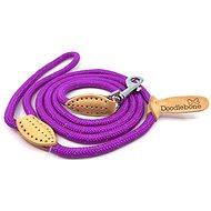 Doodlebone Purple Rope Leash - Dog Leash