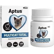 Aptus Multicat 120 Tablets - Food Supplement for Cats