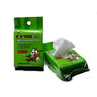 Huhubamboo Wet Cleaning Wipes in Packs 30 pcs - Sanitary Napkins for Dogs